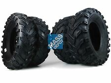 "Polaris Sportsman 700 2002-2013 MASSFX 25"" ATV Tires 25x8-12 25x10-12 4Set"