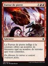 MTG Magic BFZ - (4x) Stonefury/Fureur de pierre, French/VF