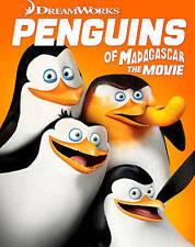 Penguins of Madagascar (Blu-ray/DVD, 2015, 2-Disc Set, Digital Copy) NEW