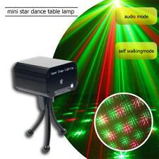Mini Laser Projector Stage Lights Mini LED Lighting Xmas Party DJ Disco KTV Show