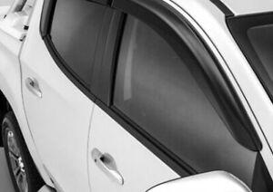 BRAND NEW GENUINE MITSUBISHI MQ & MR TRITON WEATHERSHIELDS NARROW TYPE DUAL CAB
