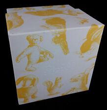Steiff Teddy Bear Gift Box Cube EAN 924217 12.5 CM Blanc Jaune Nouveau