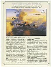 Nicolas Trudgian - Thundering Home Aviation Art FLYER