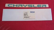 """New OEM """"CHRYSLER"""" Neon Nameplate Emblem Letter Kit Badge MH28PP1"""