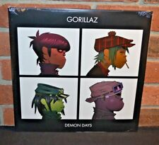 * GORILLAZ - Demon Days, UK 2LP BLACK VINYL Gatefold New & Sealed! 2018 Official
