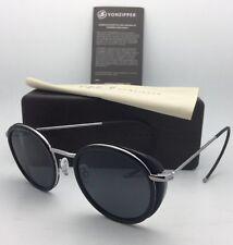 F.C.G. VONZIPPER Sunglasses VZ EMPIRE Black Frame w/ Grey Lenses & Cable Temples