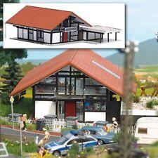 Busch 1446 scala H0 Casa di abitazione Marrone # NUOVO IN conf. orig. #