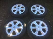 "MINI R56  4 stud alloy wheels and tyres 185/60/15"" . SPARES OR REPAIR 185/60/15"""