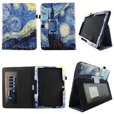 Starry Paint Fit for Samsung Galaxy Tab 4 Nook 10 Inch Tablet Case Cover ID Slot