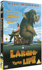 LARGER THAN LIFE BILL MURRAY PAT HINGLE JANEANE GAROFALO FOX UK REGION 2 DVD NEW