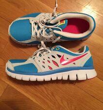 NEW NIKE Flex 2013 (GS) Running Shoe YOUTH 5y 579971 403