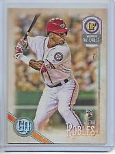 2018 Topps Gypsy Queen Victor Robles Rookie Card