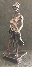 RATAPOIL bronze d'après HONORE DAUMIER caricature Bonapartiste Napoléon
