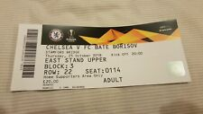 Chelsea v FC BATE Borisov Europa League match ticket 25th Oct 2018 - ESU