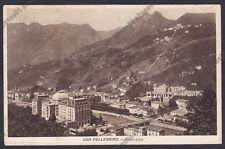 BERGAMO SAN PELLEGRINO TERME 107 Cartolina viaggiata 1938