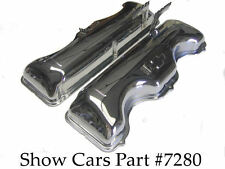 1963, 1964 VALVE COVERS 409 CHEVY CHEVROLET IMPALA SS BEL AIR WITH/OUT DRIPPERS