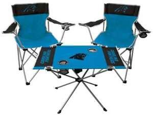 Carolina Panthers  3 Piece Tailgate Kit - 2 Chairs - 1 Table