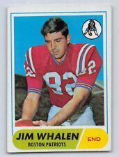 1968  JIM WHALEN - Topps Football Card- # 20 - BOSTON PATRIOTS - Vintage