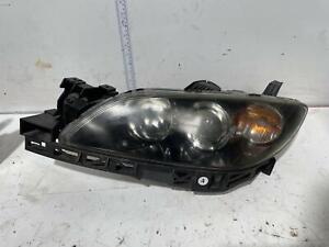 Mazda 3 Left Head Light BK 10/2003-04/2009