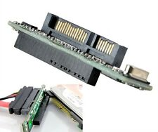 44 pin 2.5'' IDE HDD SSD Hard Drive Female to 7+15 pin Male SATA Laptop Adapter