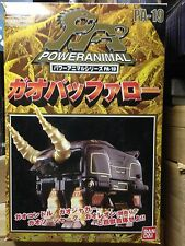 Power Rangers Wild Force PA 19 GAO GOD Buffalo Animus Megazord Sentai Gaoranger