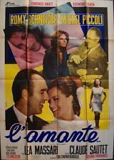 Les CHOSES DE LA VIE THINGS OF LIFE Italian 2F movie poster 39x55 ROMY SCHNEIDER