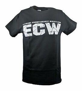 ECW Extreme Championship Wrestling White Logo T-shirt