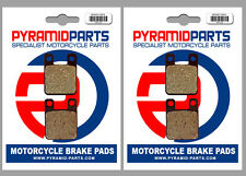 Montesa 307 Cota Trial 1988 Front & Rear Brake Pads Full Set (2 Pairs)