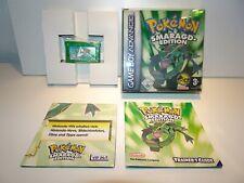 Pokémon: Smaragd-Edition Komplett in OVP Nintendo Game Boy Advance