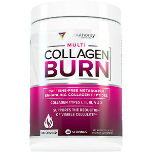 Multi Collagen BURN - Weight Loss Collagen Peptides w/ Protein, Vitamin C