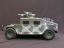 "GI Joe Hasbro US Army Humvee Missile Battery Operated 14-1/2"" Long x 8"" High"