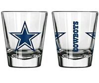 Dallas Cowboys Boelter NFL Gameday 2oz Shot Glass FREE SHIP!!
