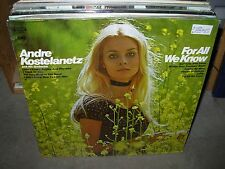 ANDRE KOSTELANETZ for all we know ( pop ) SEALED NEW