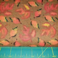 AE Nathan Cotton Quilting Leaves Fabric BTY