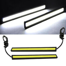 2Pcs Waterproof 12V LED COB Car Auto DRL Driving Daytime Running Lamp Fog Lights