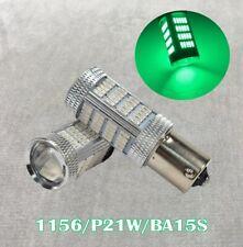 Brake Tail Stop Light 1156 BA15S 3497 1141 7506 P21W 92 LED Green Bulb W1 JAE