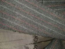 CHRISTIAN DIOR MONSIEUR GREY PINSTRIPE WOOL SUIT 40 102cm chest 34 waist