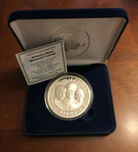 1997 Zambia 2500 Kwacha .999 Silver Coin In Memory Of Princess Diana With COA