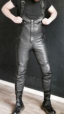 Leder Latzhose Motorrad Gr. 98 Gay