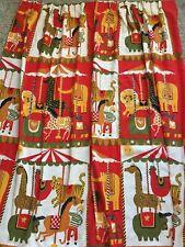SUPER GREAT 1960/'s Vintage Children/'s Curtains
