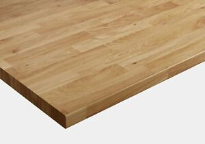 Colmar Oak Wilsonart 38mm Laminate Kitchen - Cut to Size + Free Edging Strip