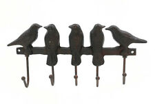 Cast Iron Five Birds Key Rack (3587)