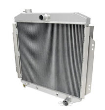 Champion 3 Row DR Aluminum Radiator For 1957-60 Ford Truck Chevy V8 Config