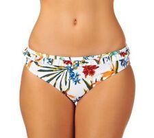 Polyester Floral Bikini Bottom Swimwear for Women