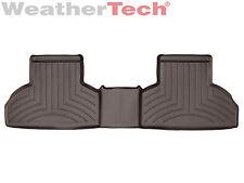 WeatherTech Custom Car Floor Mats FloorLiner for BMW X5/X6 - 2nd Row - Cocoa