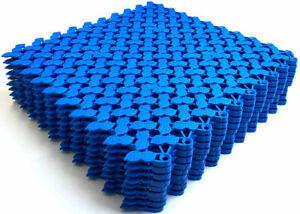 9pack VINTEK Peanut Interlocking Vinyl Floor Drain Tiles Mat Pool Shower Bath