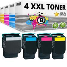 4 XL TONER für LEXMARK CS310DN CS310N CS410DN CS410DTN CS410N CS510DE CS510DTE