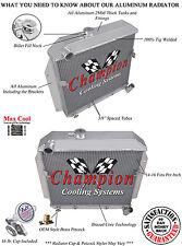 1955 1956 Plymouth Sedan Champion 3 Row Aluminum Radiator DR