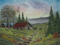 ORIGINAL OIL PAINTING on CANVAS - Northfield by SP Soni