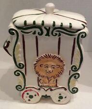 Vintage Sierra Vista Circus Lion Car Cookie Jar Ceramic 1950's Cookie Jar